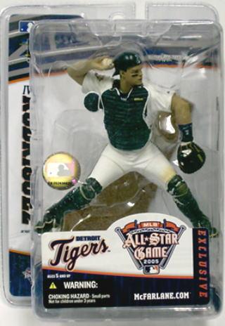【まもなく再入荷 1805】マクファーレントイズ MLB フィギュア 2005 FANFEST限定/イヴァン・ロドリゲス/デトロイト・タイガース