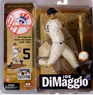 【まもなく再入荷 1802】マクファーレントイズ MLB クーパーズタウン シリーズ4/ジョー・ディマジオ/ニューヨーク・ヤンキース
