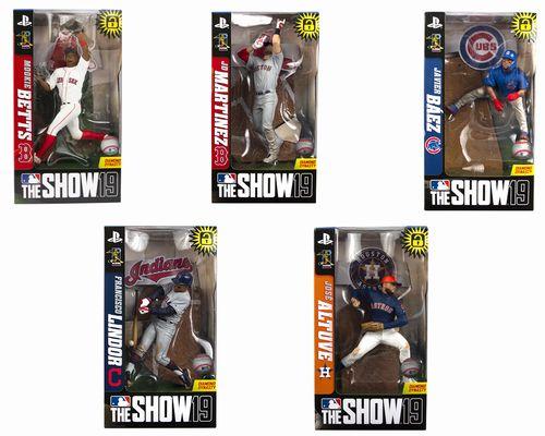 【新商品 まもなく入荷】MLB 7インチ フィギュア The Show 19/SET OF 5
