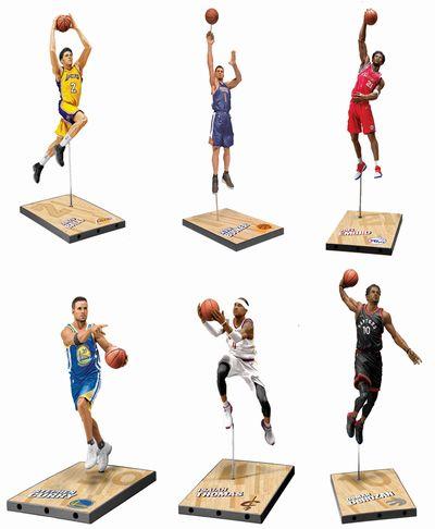 【新商品 まもなく入荷】マクファーレントイズ NBAフィギュア シリーズ32/SET OF 6(6体セット)