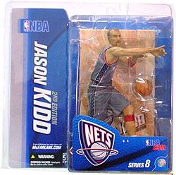 麥克法蘭玩具NBA花式滑水系列8/賈森·小孩variant灰色/新澤西網隊mcfarlane