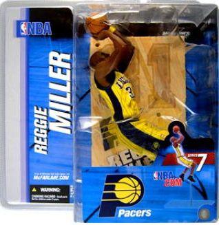 【まもなく再入荷 1511】マクファーレントイズ NBAフィギュア シリーズ7/レジー・ミラーvariant/インディアナ・ペイサーズ
