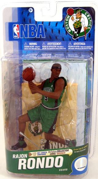 【まもなく入荷 1】マクファーレントイズ NBAフィギュア シリーズ19/レイジョン・ロンドvariant 1000体限定/ボストン・セルティックス