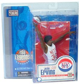 【まもなく再入荷 1605】マクファーレントイズ NBA レジェンドシリーズ1 ジュリアス・アービング(Dr.J) variant/ニューヨーク・ネッツ【532P15May16】