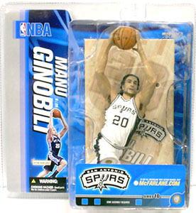 麦克法兰玩具NBA花样滑冰系列10/manu二九是再variant白/圣安东尼奥·supazu