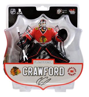 【まもなく再入荷 1710】Imports Dragon NHL フィギュア 2016-17シーズン/コーリー・クロフォード Corey Crawford (Chicago Blackhawks)