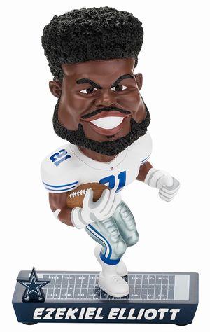 【新商品 まもなく入荷 1711】2017年 NFL Caricature ボブルヘッド エゼキル・エリオット/ダラス・カウボーイズ