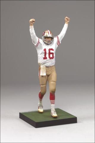 【まもなく再入荷 1710】マクファーレントイズ NFL レジェンドシリーズ5 ジョー・モンタナ トイザラス限定/SF 49ERS