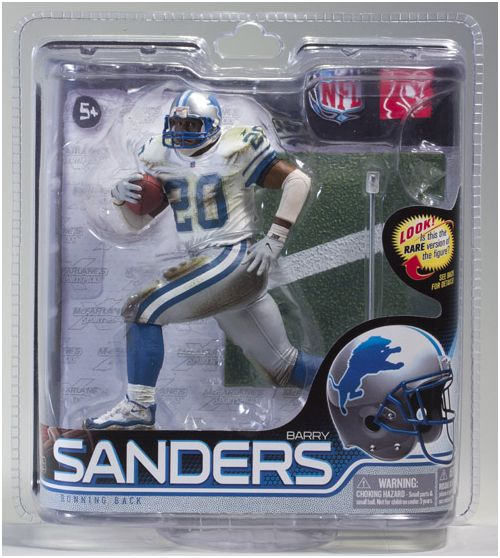 McFarlane Toys McFarlane Detroit Lions Barry Sanders Figurine-Series 28