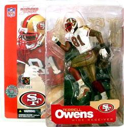 【まもなく再入荷 】マクファーレントイズ NFLフィギュア シリーズ4/テレル・オーウェンスvariant/サンフランシスコ・49ers