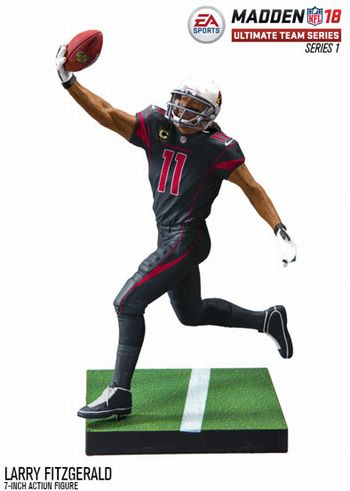Forever Collectibles Larry Fitzgerald Pittsburgh Panthers Special Edition College Name and Number Bobblehead