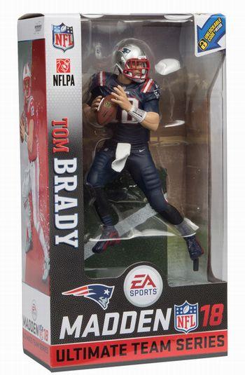 【新商品 まもなく入荷】EA Sports Madden NFL 18 シリーズ1/トム・ブレイディ カラー・ラッシュver chase/ニューイングランド・ペイトリオッツ