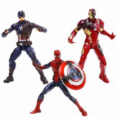 【送料無料】Captain America Civil War Marvel Legends バトルダメージ 3体セット/キャプテン・アメリカ/マーベルレジェンド