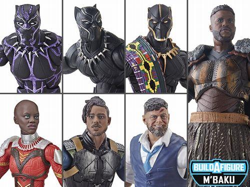 【まもなく再入荷 1903】BLACK PANTHER Marvel Legends シリーズ2 SET OF 6 (6体セット) with M'Baku/ブラックパンサー/マーベルレジェンド