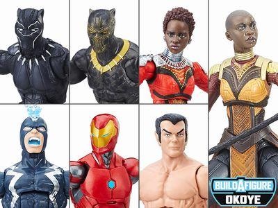 【新商品】BLACK PANTHER Marvel Legends 6体セット with オコエ/ブラックパンサー/マーベルレジェンド