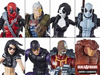 【まもなく再入荷 1804】Deadpool Marvel Legends 7体セット with Alpha Flight/マーベルレジェンド/デッドプール