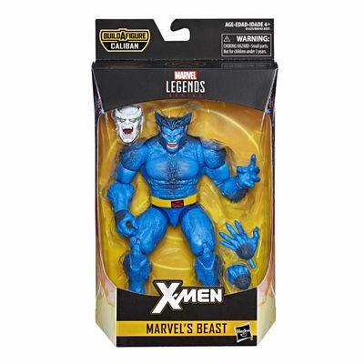 【まもなく再入荷 1907】ハズブロ マーベルレジェンド X-MEN Marvel's Beast Marvel Legends/Calibanパーツ付き