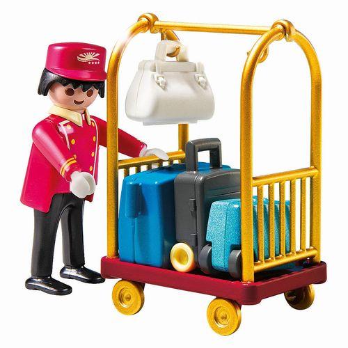 魔比搬运工与行李手推车 (魔比) / 行李员
