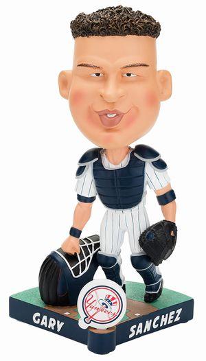 【新商品 まもなく入荷 1711】2017年 MLB Caricature ボブルヘッド ゲイリー・サンチェス/ニューヨーク・ヤンキース