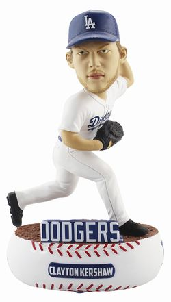 2018年 MLB ボブルヘッド 限定 Baller シリーズ/クレイトン・カーショー/ロサンゼルス・ドジャース