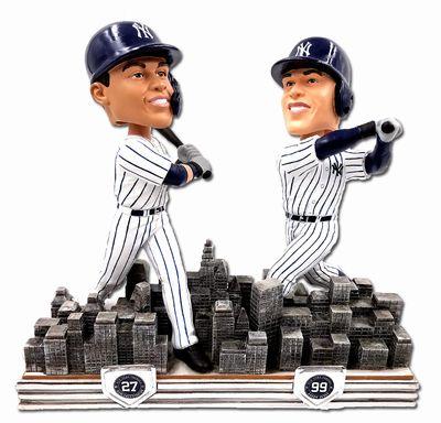 【新商品 まもなく再入荷 1904】2018年 MLB ボブルヘッド 限定 アーロン・ジャッジ & ジャンカルロ・スタントン/ニューヨーク・ヤンキース