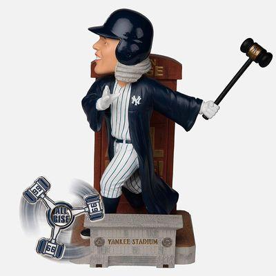 【まもなく再入荷 1809】2017年 MLB ボブルヘッド 12インチ 限定品/アーロン・ジャッジ & Spinner/ニューヨーク・ヤンキース