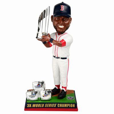 【まもなく再入荷 1806】MLB ボブルヘッド 限定 3time ワールド・シリーズチャンピオン デビッド・オルティス/ボストン・レッドソックス