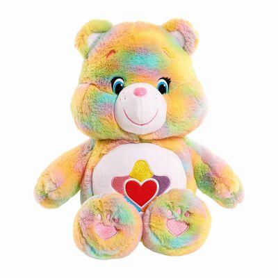 Hasbro Care Bears&Cousins Stuffed Figure True Heart Bear約30cm nuigurumi☆關懷提高基本工資