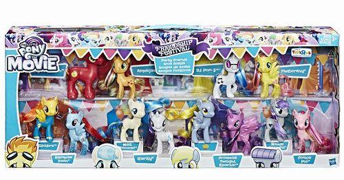 【まもなく再入荷 1806】マイリトルポニー The Movie Festival Party Friends Exclusive Figure 限定品 12個セット/My Little Pony