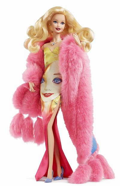 【まもなく入荷 1911】Barbie(バービー)アンディ・ウォーホール No.3/ゴールドラベル