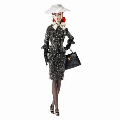 超高品質で人気の 【まもなく入荷 White 1906 &】Barbie(バービー)コレクタードール Black Black & White Tweed Suit Doll/ゴールドレベル, 豆腐の佐嘉平川屋:12a336b1 --- kventurepartners.sakura.ne.jp