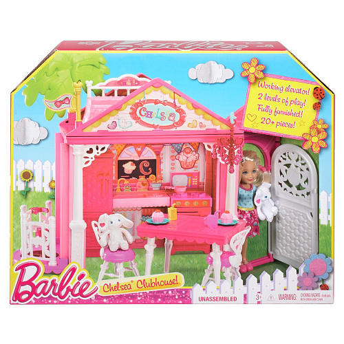 Barbie Chelsea clubhouse