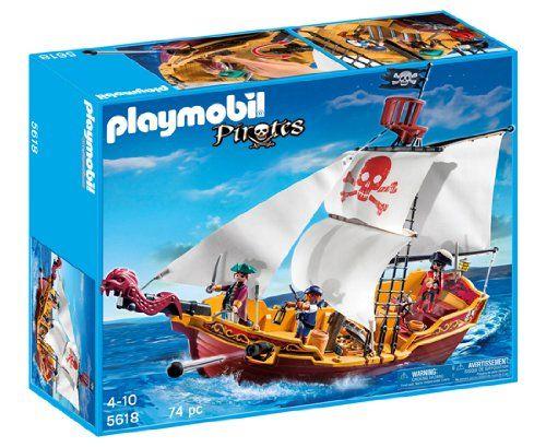 Playmobil Red Serpent Pirate Ship/プレイモービル【5618】