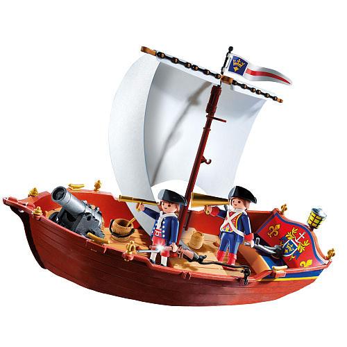 【まもなく再入荷 1504】Playmobil Soldiers Boat/プレイモービル【5948】
