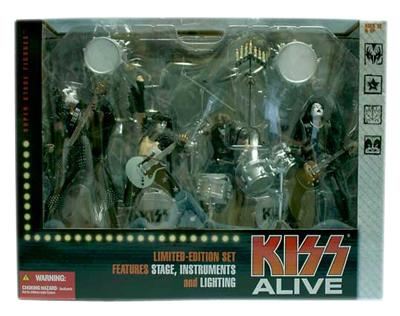 【まもなく再入荷 1908】【送料無料】マクファーレントイズ MUSICシリーズ/KISS ALIVE DX BOX SET/キッス