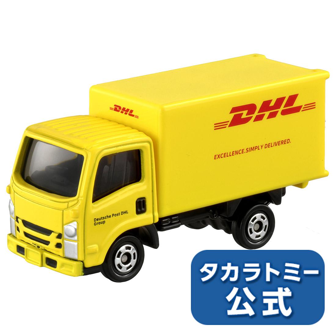 2020年10月17日発売タカラトミー公式店5500円以上購入で送料無料 海外輸入 トミカ No.109 割引 箱 DHLトラック