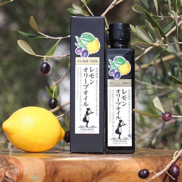 小豆島東洋オリーブ  小豆島産レモンオリーブオイル 136g