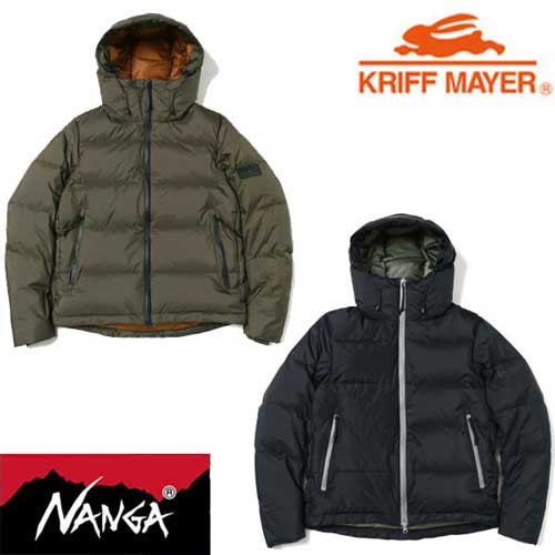 KRIFF MAYER × NANGA レトロダウンジャケット【日本製】KRIFF MAYERMENS1829900