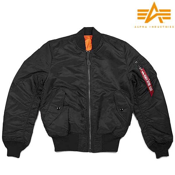 ALPHA MA-1 タイト ジャケット[ユニセックス]20004 201BLACK
