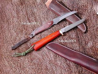 Japanese-style forged カスタムフラワー knife