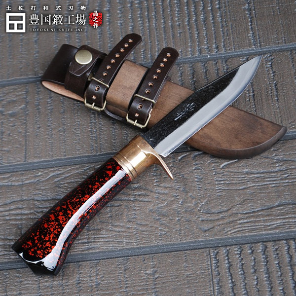 剣鉈120土佐オリジナル白鋼樫