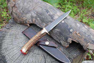 【予約制】Custom Knife アメリカモデル2013 【予約制】カスタムスタッグ 山波