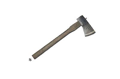 土佐犬鐵匠大師手工砍柴 AX 小斧頭 700 g fs3gm