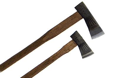 【晶之作】土州薪割り斧(大/小斧)2本セット