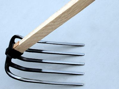 五つ又鍬 柄付 柄1500mm