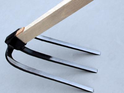 三つ又鍬 柄付 柄1500mm