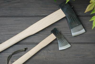【送料無料】薪割斧チェッカー入 大斧1.5kg&小斧380g