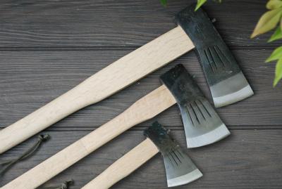 【送料無料】薪割斧チェッカー入 大斧1.5kg 小斧700g 小斧380g
