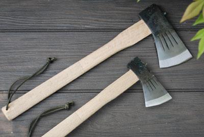 【送料無料】薪割斧チェッカー入 小斧700g 小斧380g