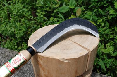 登型造林鎌 両刃